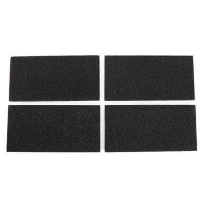 10.2x5.1x0.7 Pack of 4 Replacement Carbon Filters for Holmes HAPF30 HAPF-30D