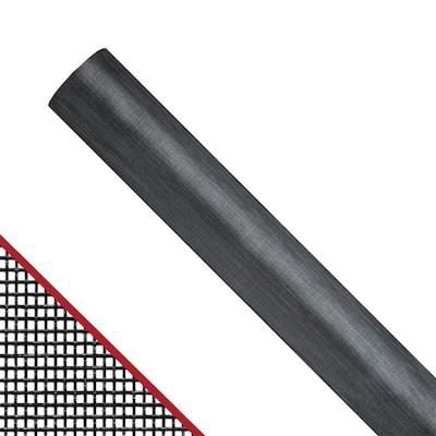 36 in. x 100 ft. Charcoal Fiberglass Extra Strength Window and Door Screen Roll