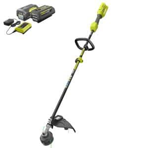 40V Expand-It™ Cordless Battery Attachment Capable String Trimmer with (2) 4.0 Ah Batteries and (1) Charger