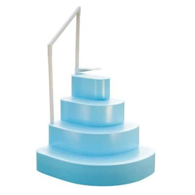 Wedding Cake Step with Liner Step Pad