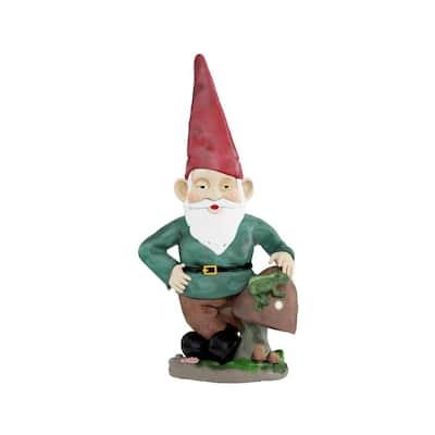 Lawn and Garden Gnome Statue