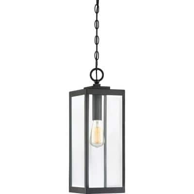 Westover 1-Light Black Outdoor Pendant Light