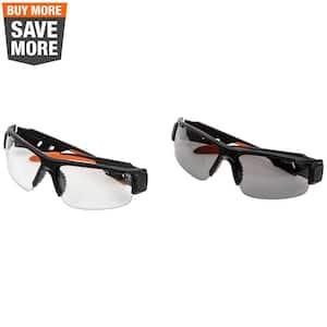 PRO Safety Glasses-Semi-Frame, Combo Pack