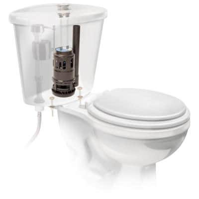 Replacement 3 in. Dual Flush Valve for 2-Piece Glacier Bay Toilets