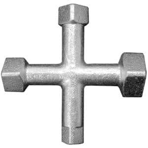4-Way Countersunk Plug Wrench