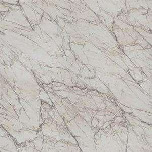 4 ft. x 8 ft. Laminate Sheet in 180fx Quartzite Bianco with Scovato Finish