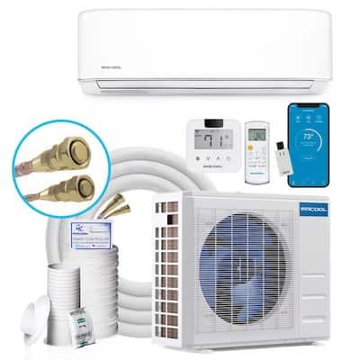 DIY Gen-3 18,000 BTU 20 SEER ENERGY STAR Ductless Mini Split Air Conditioner & Heat Pump w/ 25 ft. Install Kit 230-Volt