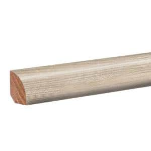 Chalked Abiding Pine 0.62 in. T x 0.75 in. W x 94.5 in. L Laminate Quarter Round Molding