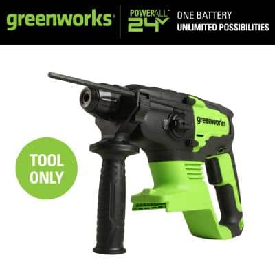 3/4 in. 24-Volt Battery Cordless Brushless SDS 2J Rotary Hammer (Tool-Only)