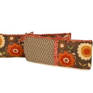 Peggy Sue Cotton 4-Sectional Crib Bumper Pads Cotton