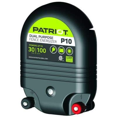 P10 Dual Purpose Fence Energizer - 1.0 Joule
