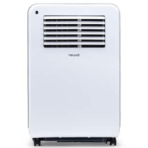 12,000 BTU (7,700 BTU, DOE) Portable Air Conditioner Cover 425 sq. ft. with Easy Setup Window Venting Kit - White