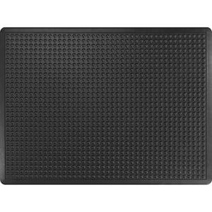 Bubble Flex Standard Black 2 Ft. x 3 Ft. Commercial Door Mat