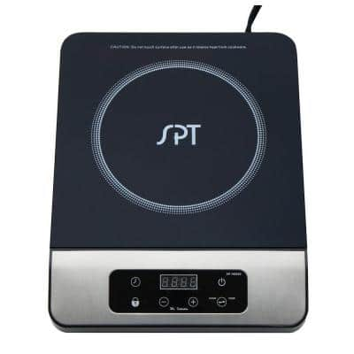 11 in. 1650 Watt Induction Cooktop in Stainless Steel with 13 Power Settings and 1 Element