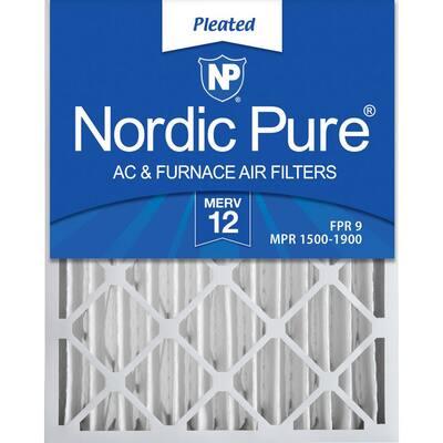 20  x 25  x 4  Allergen Pleated MERV 12 - FPR 9 Air Filter (2-Pack)