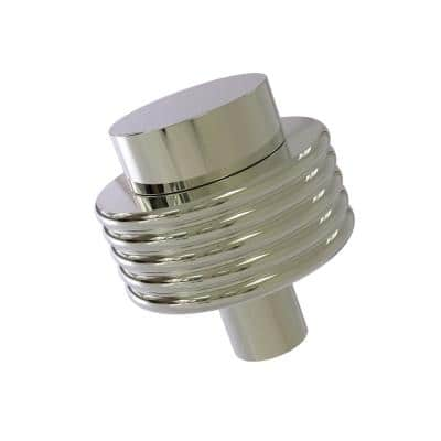 1-1/2 in. Cabinet Knob in Polished Nickel