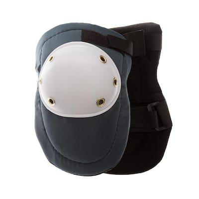 Blue/White Hard Cap Work Knee Pads