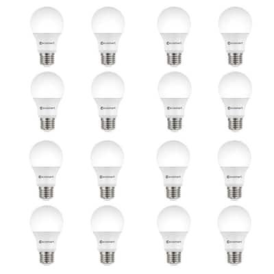 60-Watt Equivalent A19 Dimmable ENERGY STAR LED Light Bulb Soft White (16-Pack)