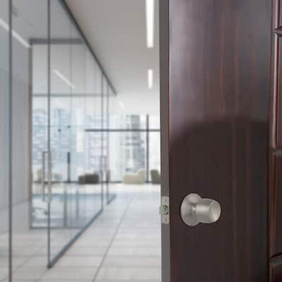 Brandywine Stainless Steel Passage Hall and Closet Door Knob Contractor Pack (6-Piece)