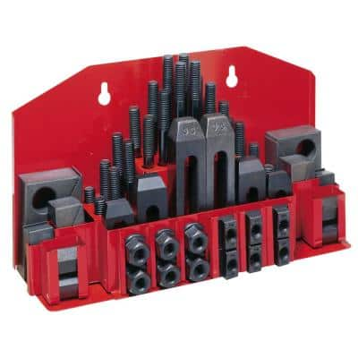 CK-58 11/16 in. and 3/4 in. Clamping Kit with Tray for T-Slots