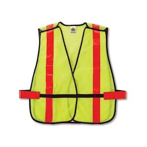 GLoWEAR Lime Hi-Vis Non-Certified X-Back Vest