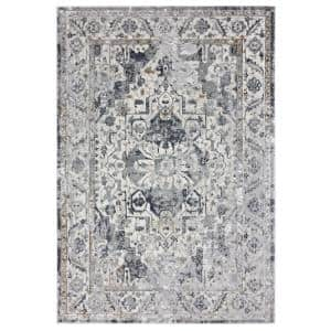 United Weavers United Weavers Veronica Adaleigh Blue Grey 12 Ft 6 In X 15 Ft Oversize Area Rug 2610 20067 1215 The Home Depot