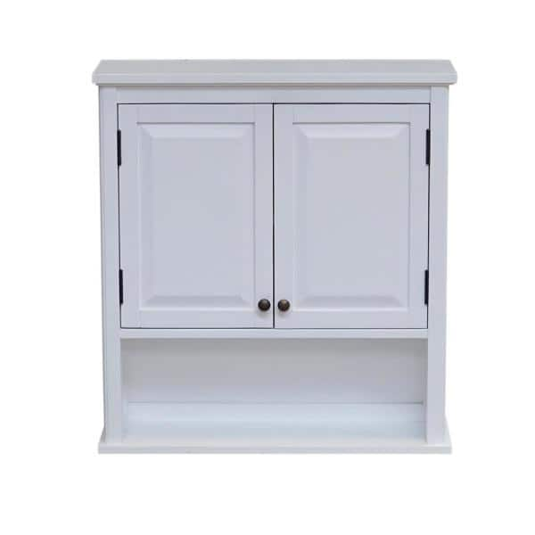 Alaterre Furniture Dorset 27 In W Wall, Wall Mounted Storage Cabinets Home Depot