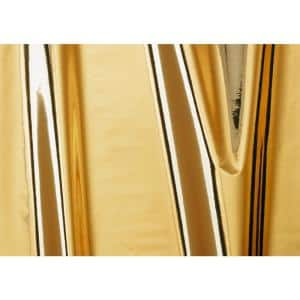 17 in. x 59 in. Glossy Gold Self-adhesive Vinyl Film for Furniture and Door Decoration