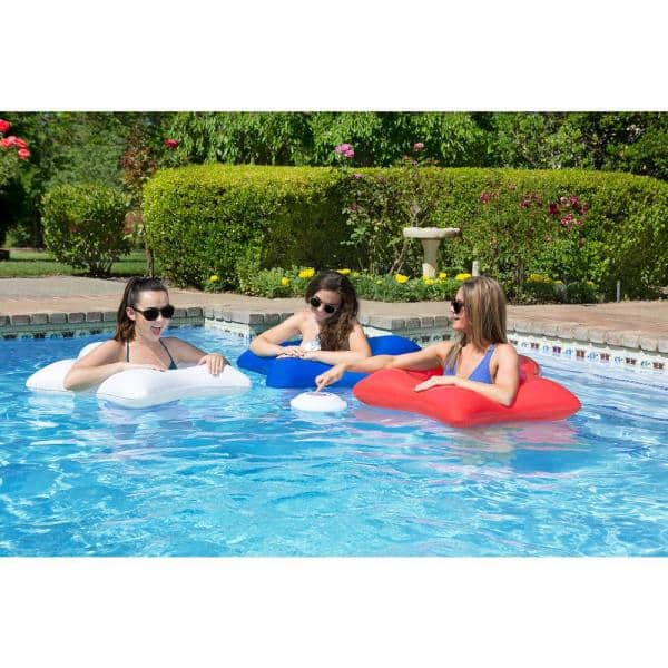 Poolmaster Multi Light Floating Pool Speaker With Call Functionality 54504 The Home Depot