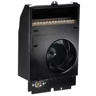 Com-Pak 2000-Watt 240-Volt Fan-Forced Wall Heater Assembly with Thermostat