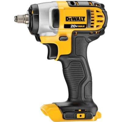 20-Volt MAX Cordless 3/8 in. Impact Wrench Kit with Hog Ring (Tool-Only)