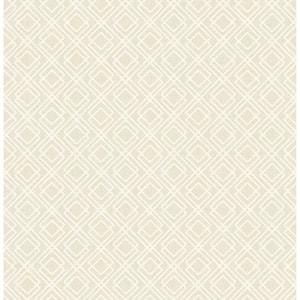 Puck Wheat Geometric Wheat Wallpaper Sample
