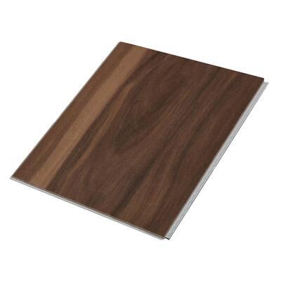Take Home Sample - Deep Sea Eucalyptus Pro with Mute Step Waterproof Luxury Vinyl Plank Flooring - 7.25 in. W x 6 in. L