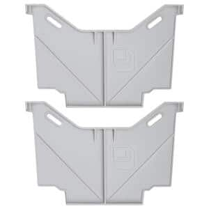 Narrow Drawer Divider Set for Decked Pick Up Truck Storage System (2-Pack)