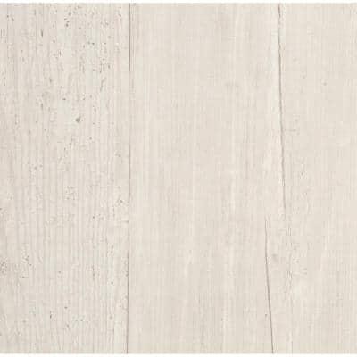 Wide Wooden Planks Paper Strippable Roll Wallpaper (Covers 56 sq. ft.)