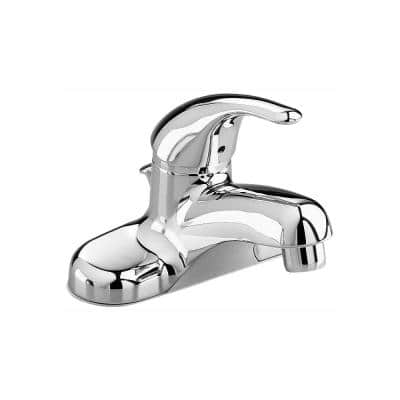 Colony Soft 4 in. Centerset Single Handle Bathroom Faucet in Polished Chrome with Pop-Up Hole