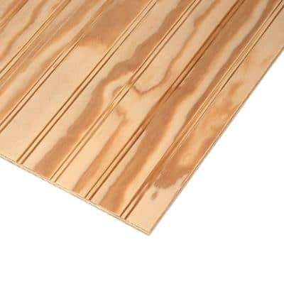 Plywood Siding Plybead Panel (Nominal: 11/32 in. x 4 ft. x 8 ft. ; Actual: 0.313 in. x 48 in. x 96 in. )