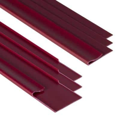 EZ-On Grid Cover Kit - Snap On - Garnet - 72 Linear ft.