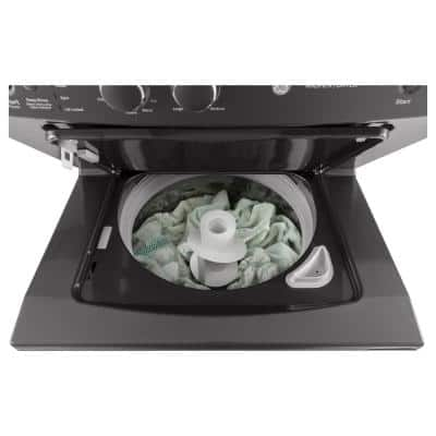 Spacemaker Diamond Gray Laundry Center with 3.8 cu. ft. Washer and 5.9 cu. ft. 120-Volt Gas Dryer