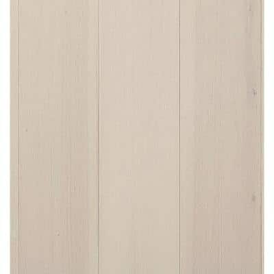 Hickory Silver Cloud 1/2 in. T x 7.5 in. W x Varying Length Engineered Hardwood Flooring (31.09 sq. ft./case)