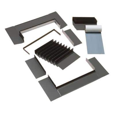C01, C04, C06 Low-Profile Flashing with Adhesive Underlayment for Deck Mount Skylight