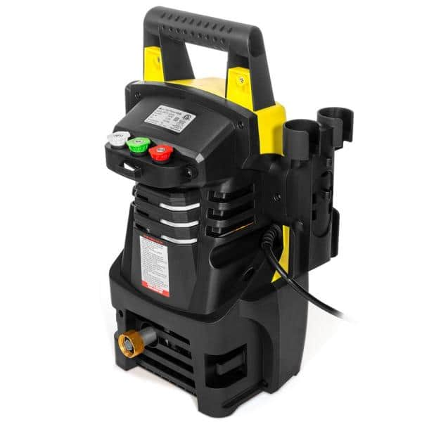 Xtremepowerus 1300 Psi 1 2 Gpm Mini Electric Hot Cold Water Pressure Washer With Spray Gun Reel Hose Max Jet Xp2000s 61032 H The Home Depot