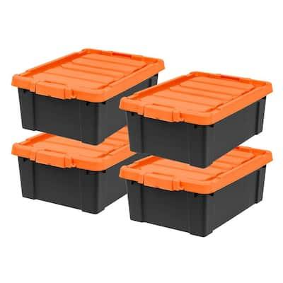 11 Ga Gallon Storage Bins, Home Depot Storage Baskets