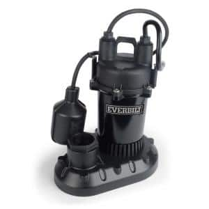 1/4 HP Aluminum Sump Pump with Tethered Switch
