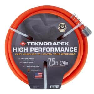 High Performance 3/4 in. x 75 ft. Tradesman Grade Water Hose