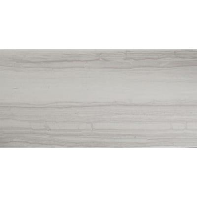Lucia Gris 12 in. x 24 in. Matte Ceramic Floor Tile (13.56 sq. ft. / carton)
