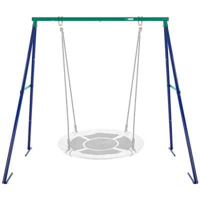 440 lbs. Capacity Metal Swing Frame Stand for Saucer Swing Not Included