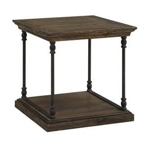 Corbin Medium Brown End Table