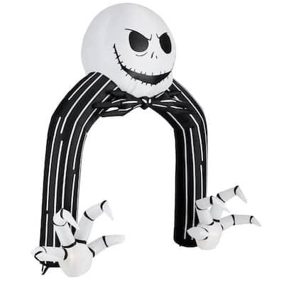 11.5 ft. Jack Skellington Airblown Archway Disney Halloween Inflatable