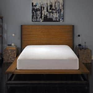 Vinyl Free and Hypoallergenic Full Maximum Allergy and Bedbug Waterproof Zippered Mattress Protector